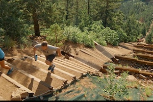 Manitou Incline Trail, Manitou Springs