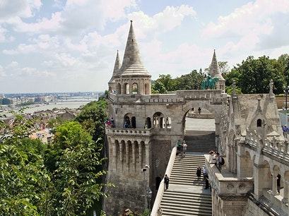 Fisherman's Bastion Tass  Hungary