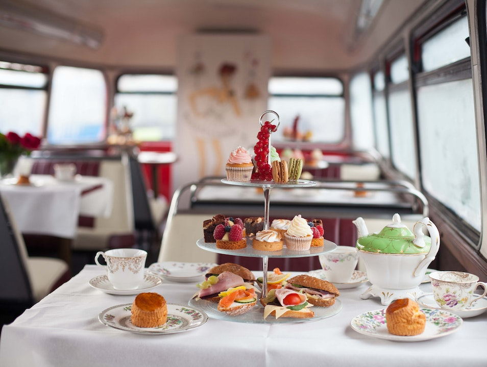 The Afternoon Tea Bus  London  United Kingdom