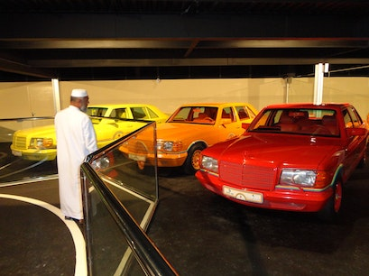 Emirates National Auto Museum Abu Dhabi  United Arab Emirates
