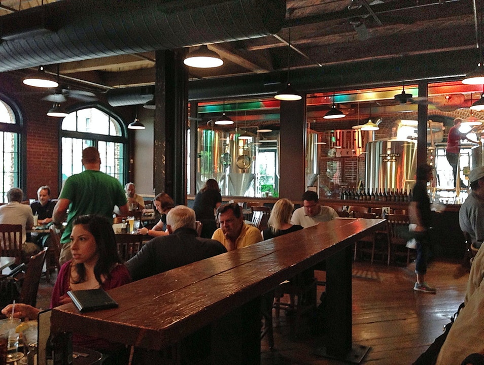 Brew Pub Near Downtown St. Louis Missouri United States