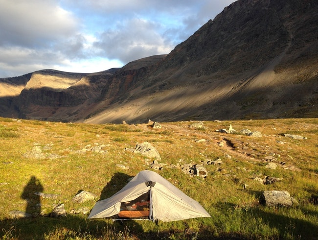 Hiking a section of the Kungsleden