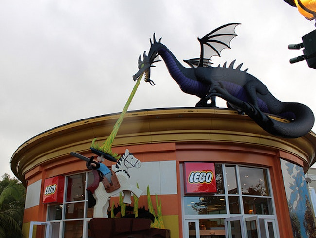 The ultimate lego store
