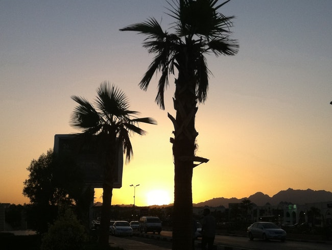 Sunset Sharm el Sheikh Egypt