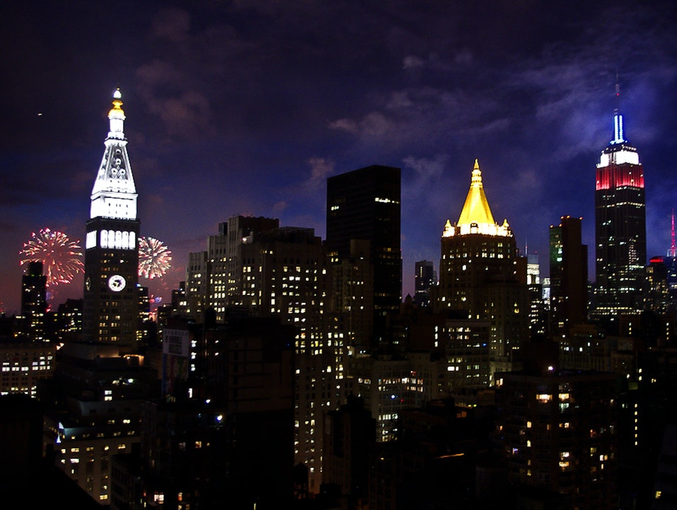 On Top of the World: NYC Independence Day New York New York United States