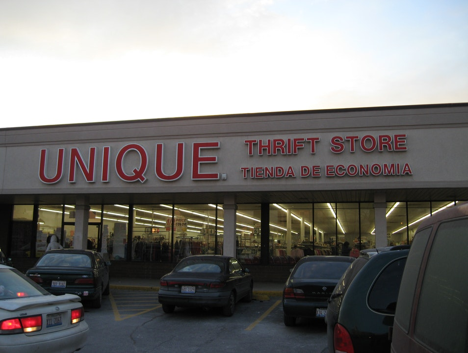Designer Finds at a Thrift Store Chicago Illinois United States