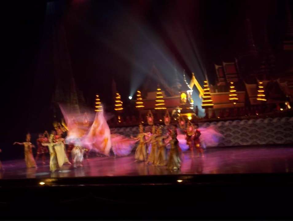 Thai Alangkarn Theater Pattaya Bang Lamung  Thailand