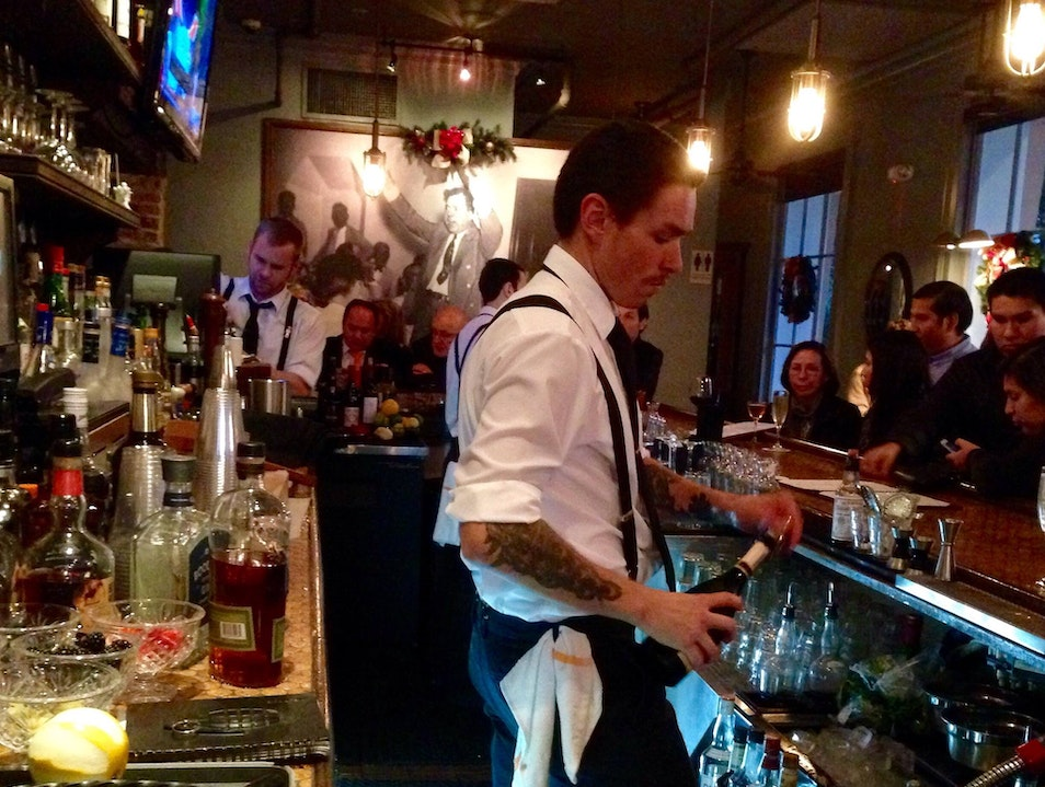 Where bartending is a craft New Orleans Louisiana United States