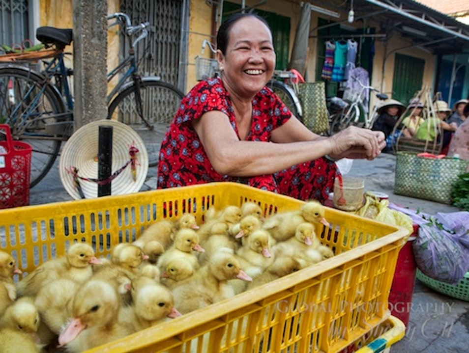 Get Up Early to Go Local at Hoi An Market thành phố Hội An  Vietnam