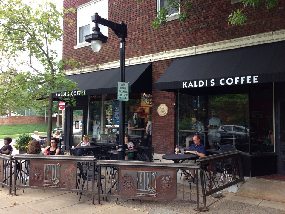 A Perfect Little Coffeehouse St. Louis Missouri United States