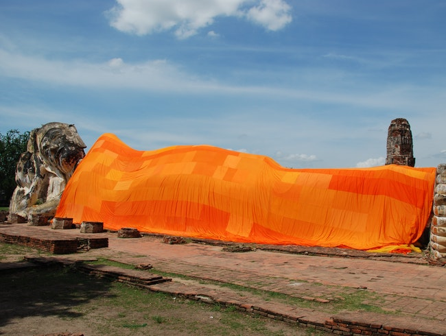 The Great Reclining Buddha of Ayutthaya