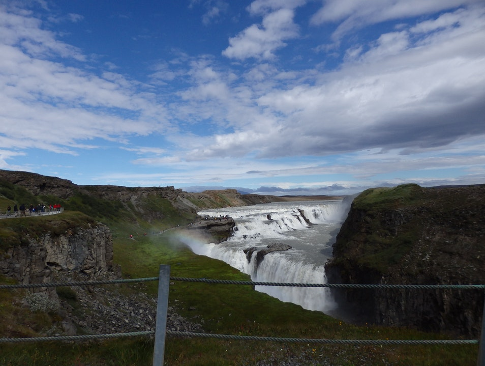 Gullfoss on The Golden Circle Self-Drive South  Iceland