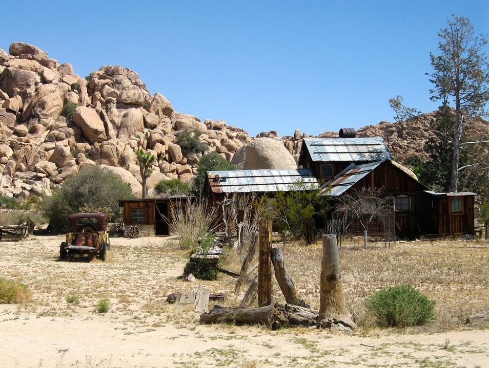 Exploring the Historic Desert Queen Ranch Twentynine Palms California United States