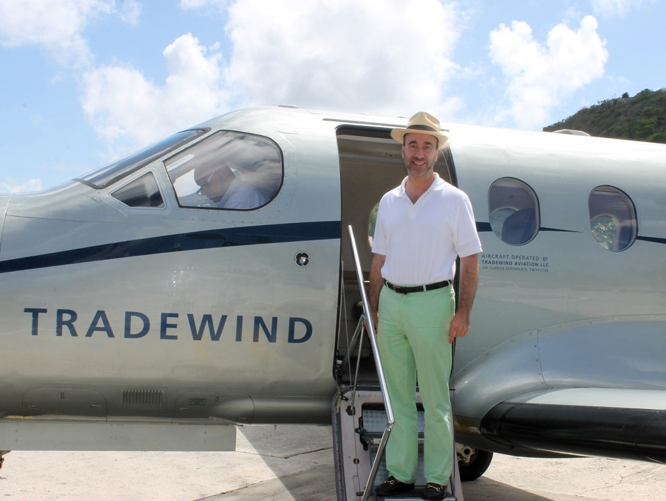Arriving in Style on St Barths: Tradewind Aviation