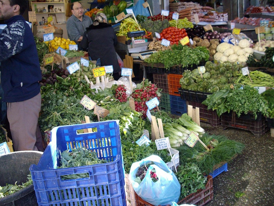 Shop Organic at a Laiki Market  Athens  Greece