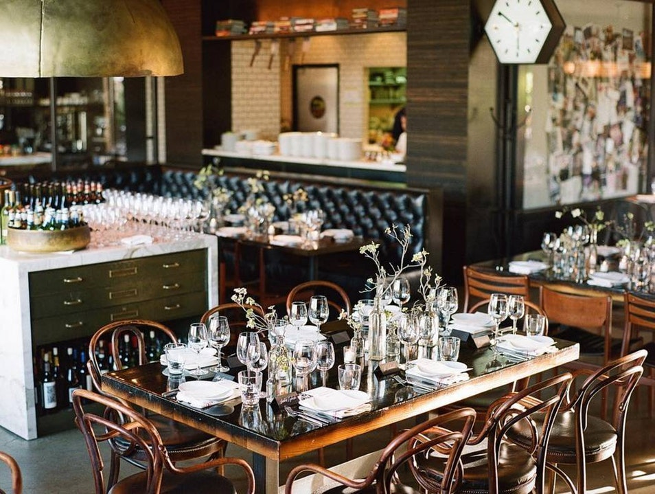 The Bar at Redd Wood Yountville California United States