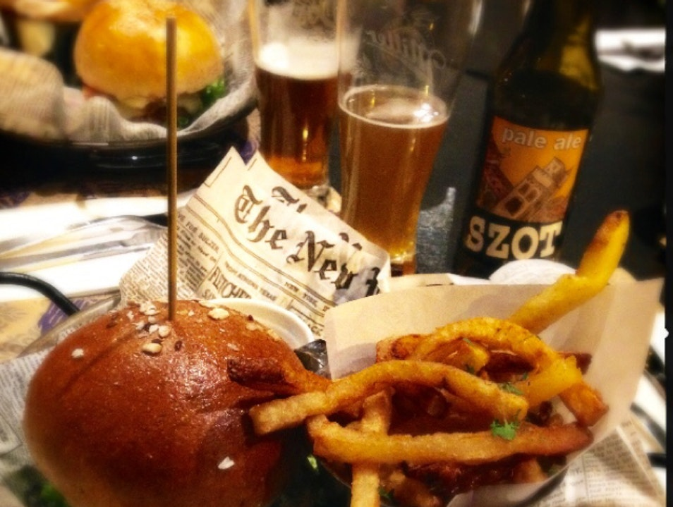 Burgers and Brews