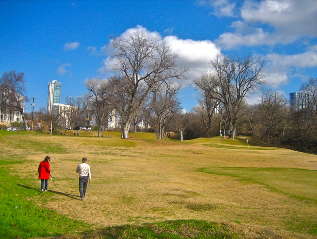 Pitch and Putt in Downtown Austin