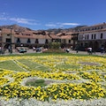 Cusco's City Square Cuzco  Peru