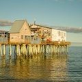 Pier Pizza Old Orchard Beach Maine United States