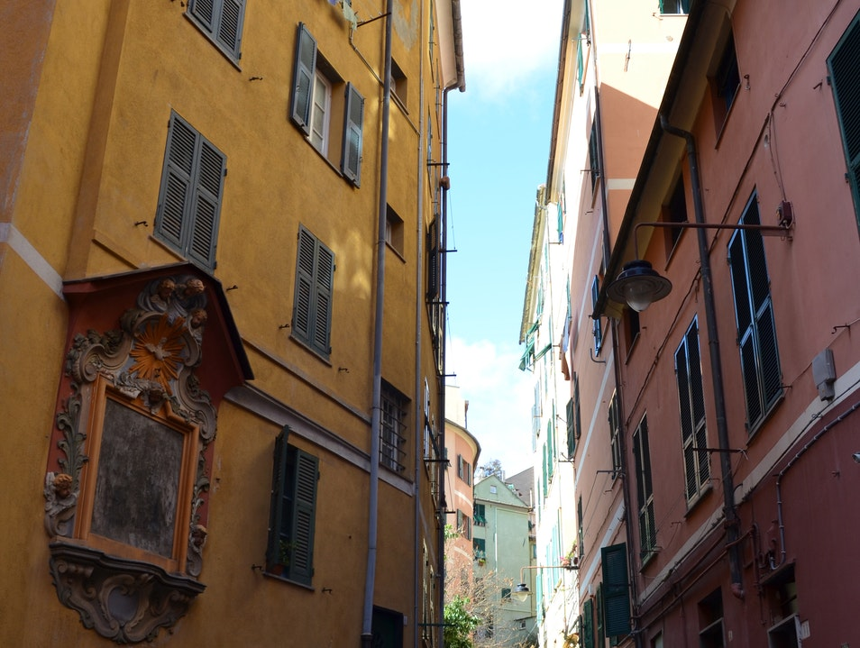 Take an afternoon stroll through Campopisano Genoa  Italy