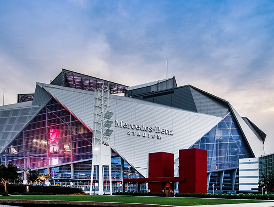 Mercedes-Benz Stadium Atlanta Georgia United States