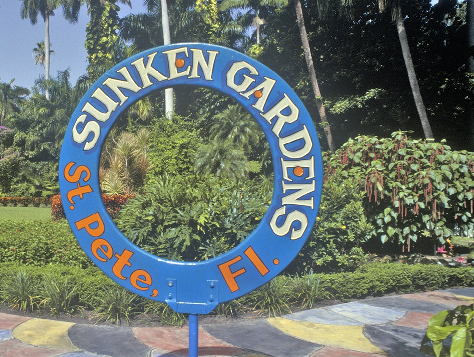 Sunken Gardens Saint Petersburg Florida United States