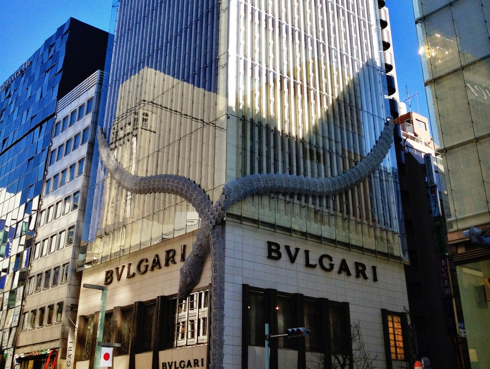 Luxury Shopping in Ginza, Tokyo