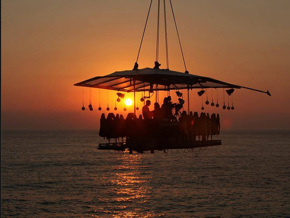Dining among Clouds in Los Cabos  Cabo San Lucas  Mexico
