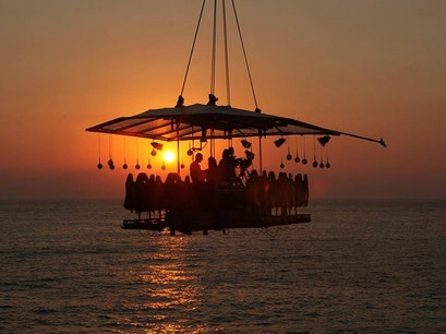 Dinner in the Sky Cabo San Lucas  Mexico