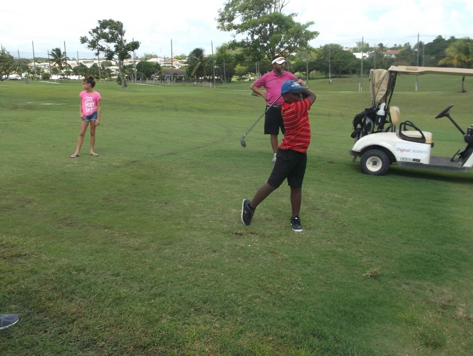 Take to the links  Oistins  Barbados