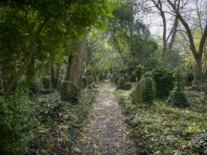 Highgate Cemetery London  United Kingdom