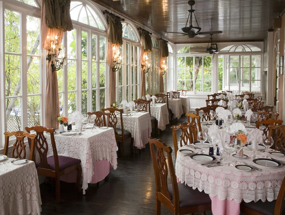 Graycliff Hotel Restaurant The Bahamas Afar