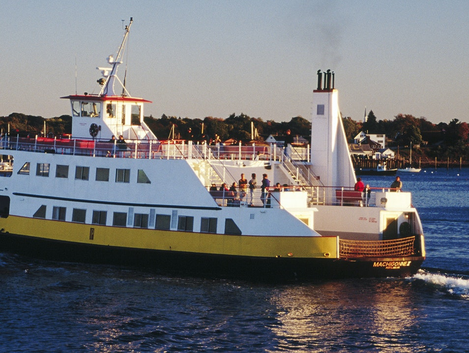 Peaks Island and the Casco Bay Lines Portland Maine United States