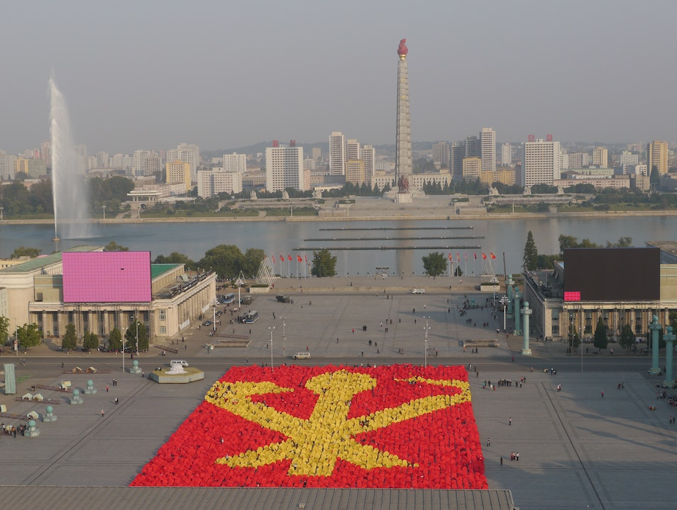 Every once in a while Pyongyang  North Korea