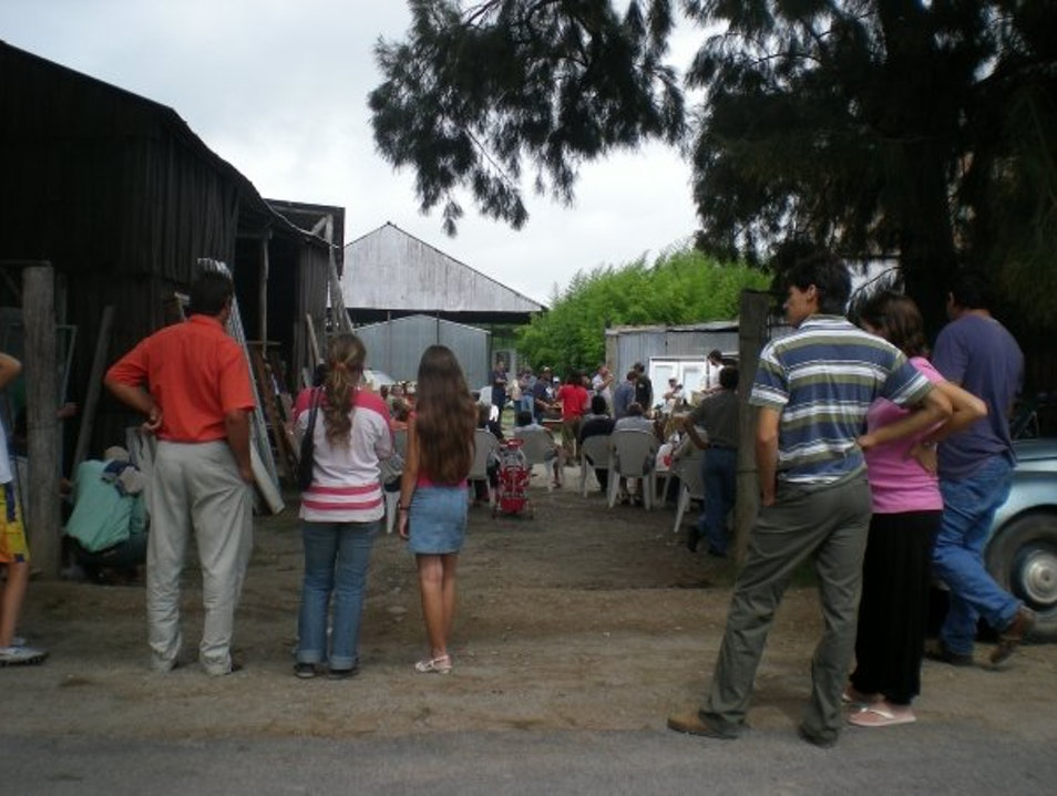 A Farmers Auction in Uruguay