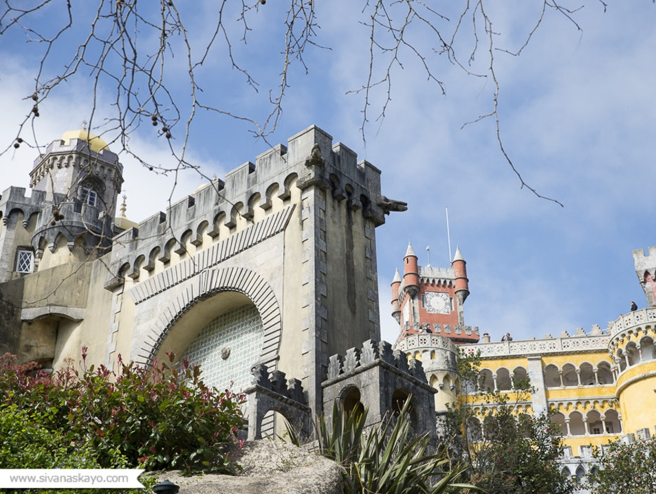 The gorgeous Palace of Pena  Sintra  Portugal