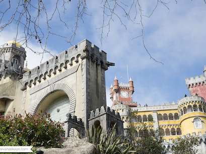 Park and National Palace of Pena Sintra  Portugal