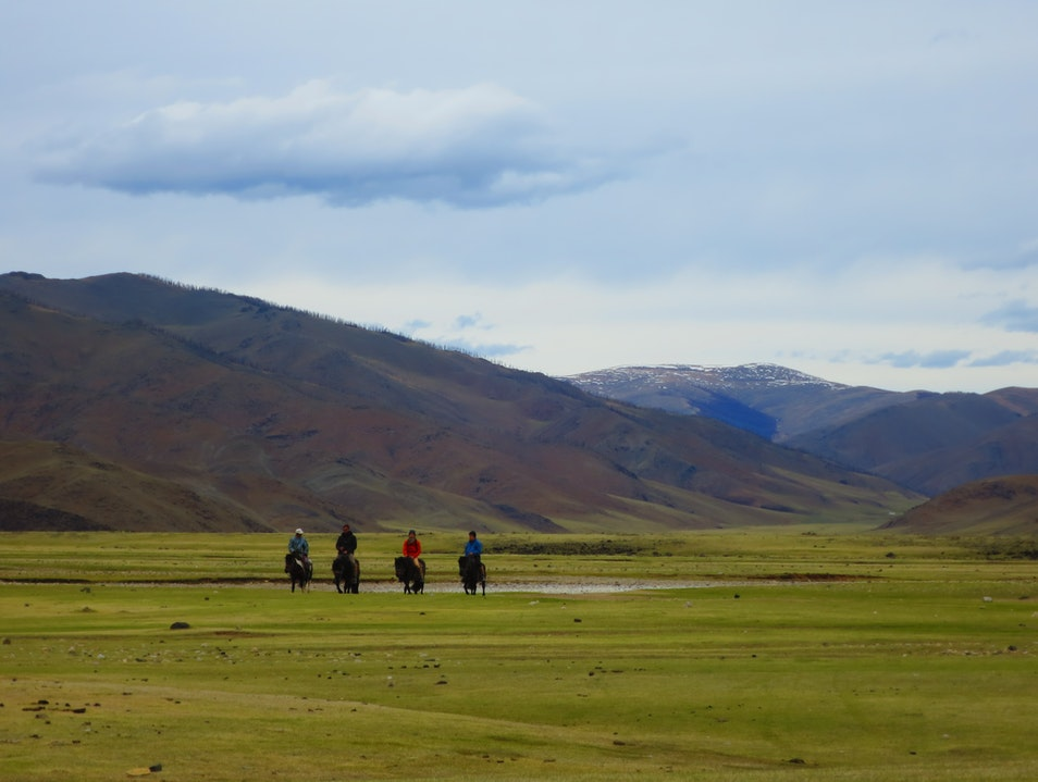 Horse riding Khashaat  Mongolia