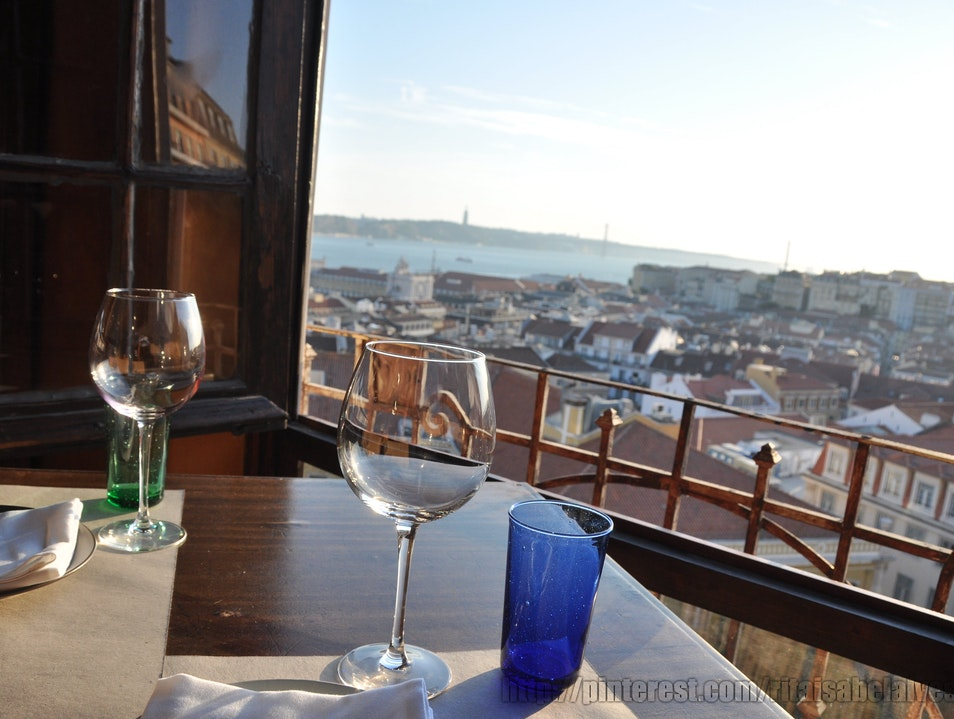 Romantic Dinner with a View over Lisbon Lisbon  Portugal