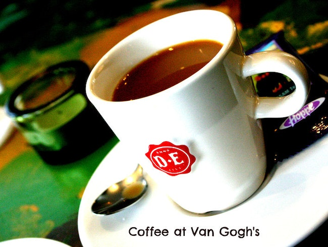 Cuppa joe at van Gogh's