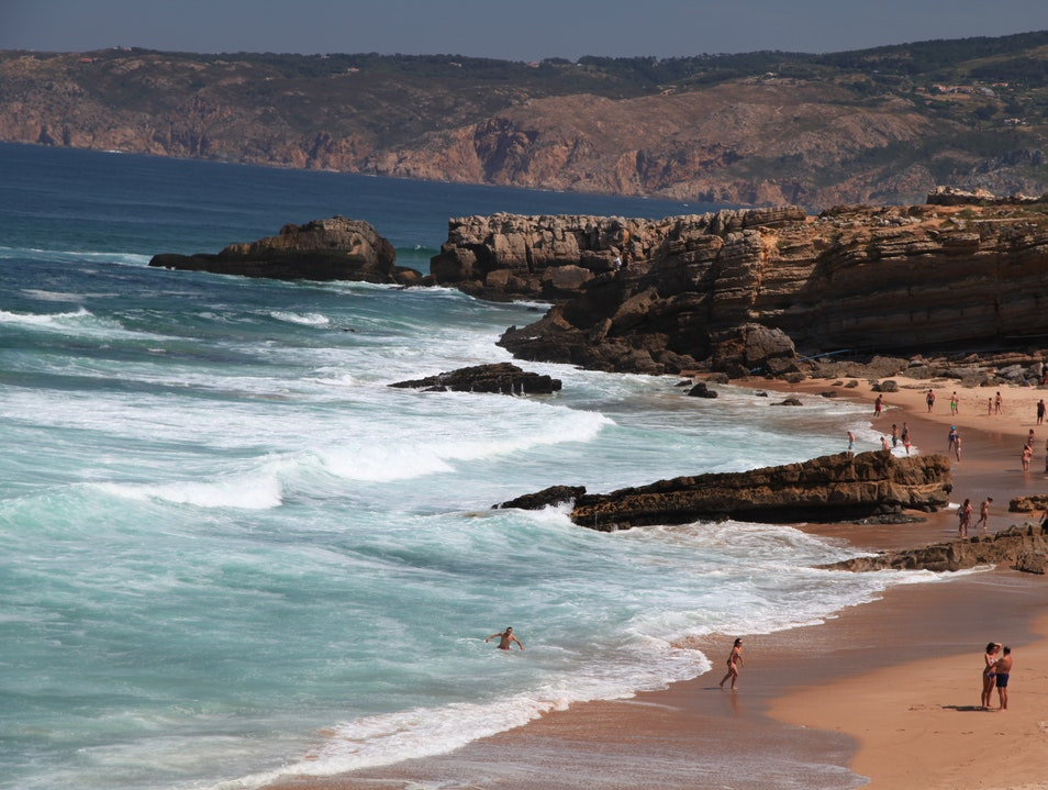 ON THE COAST OF PORTUGAL, ONE OF THE TOP TEN BEACHES IN THE WORLD Cascais  Portugal