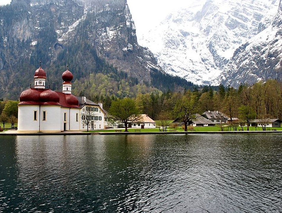 St. Bartholomew's Church on Lake Königssee