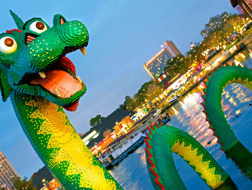 Theme Park Capital of the World Orlando Florida United States