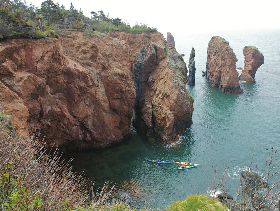 Bay of Fundy Advocate Harbour  Canada