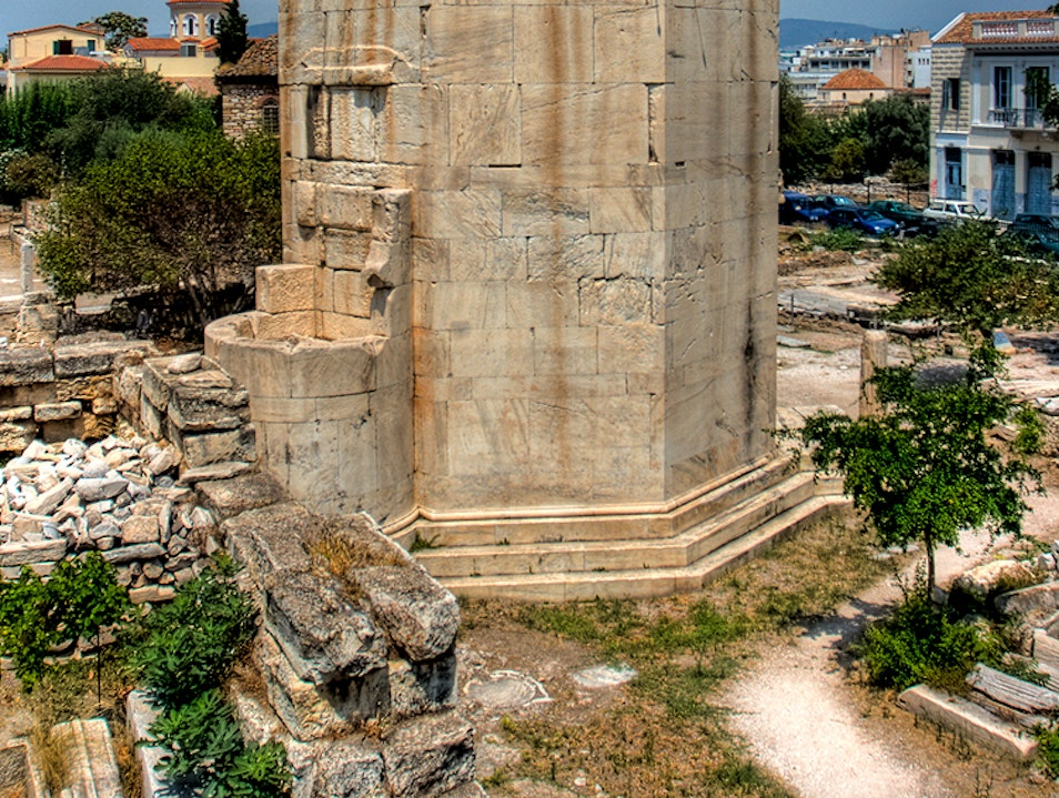 The Tower of the Winds Athens  Greece