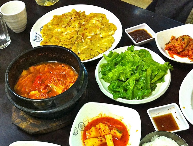 Tuck into a Korean BBQ feast