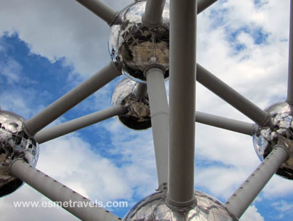 Gee Whiz, it's Atomium Brussels  Belgium