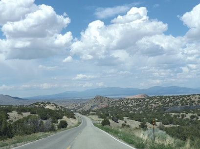 Turquoise Trail Santa Fe New Mexico United States