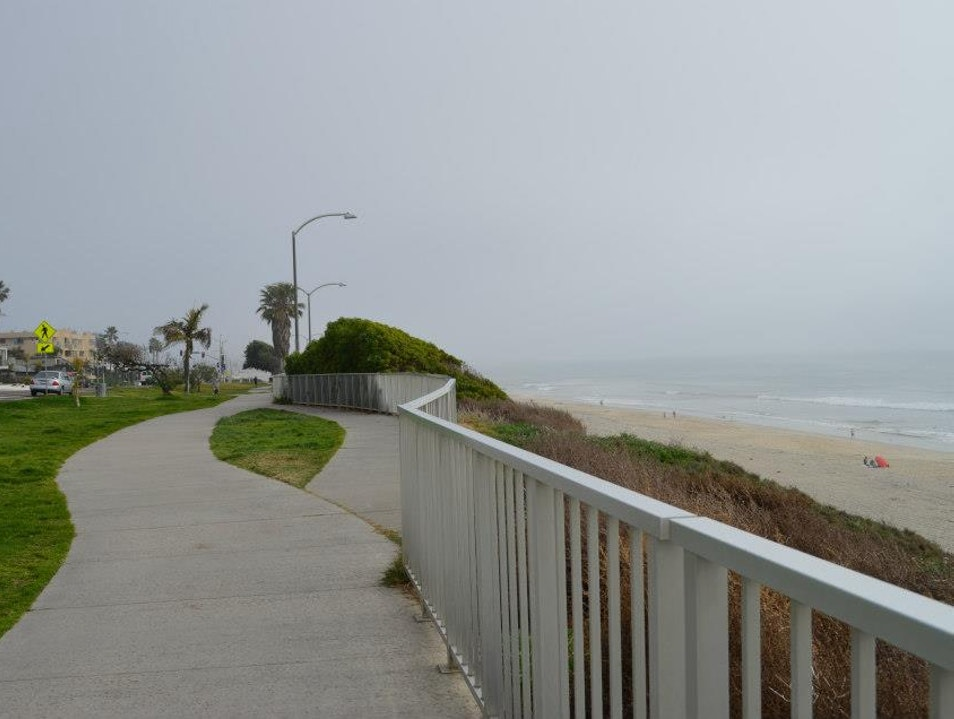 Running Along the Beach Carlsbad California United States